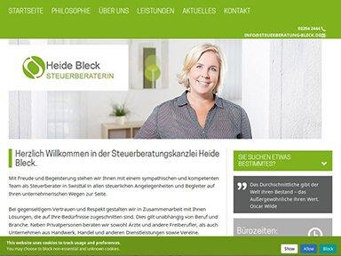 Heide Bleck front
