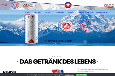 Delavie vitamin drink front