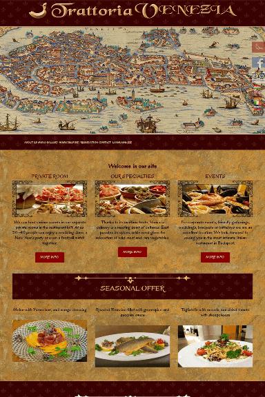 Trattoria Venezia Pizzeria front